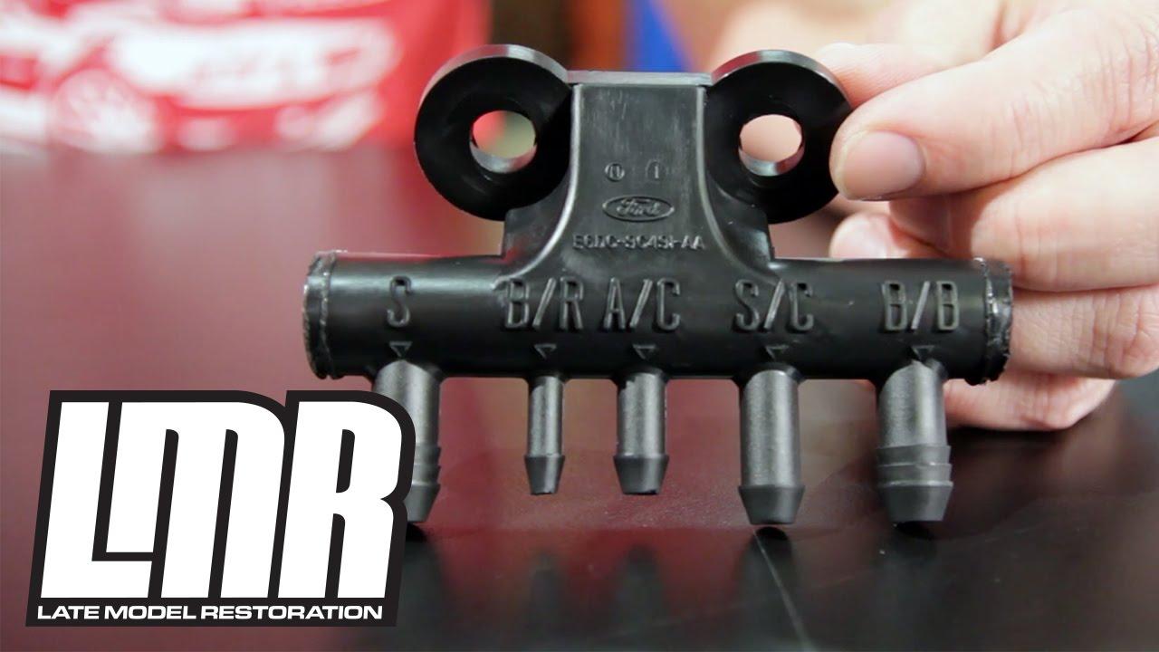95 Mustang Gt Fuel Pump Wiring Diagram Kc Slim Lights Fox Body 5 0l Vacuum Tree 0resto 86 93 Youtube