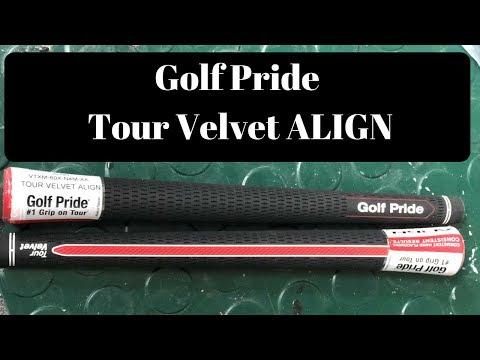 2018 Golf Pride Align Grip Review - Tour Velvet - Golf Club Review