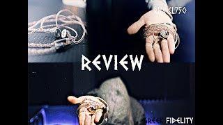 RHA CL750 Review - Metallic Body Metallic Soul