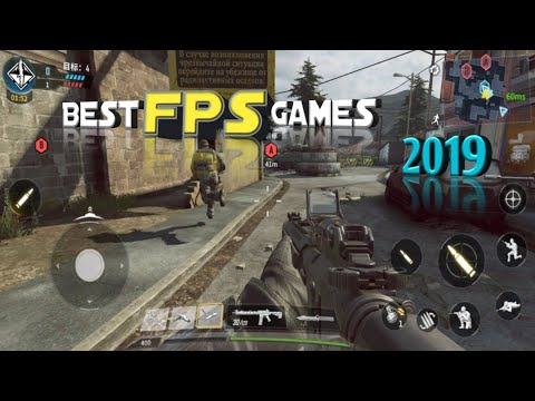 Top 10 Best FPS Games For Android 2019   NEW Intense FPS  
