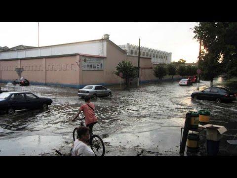 Затопленные улицы Пушкина