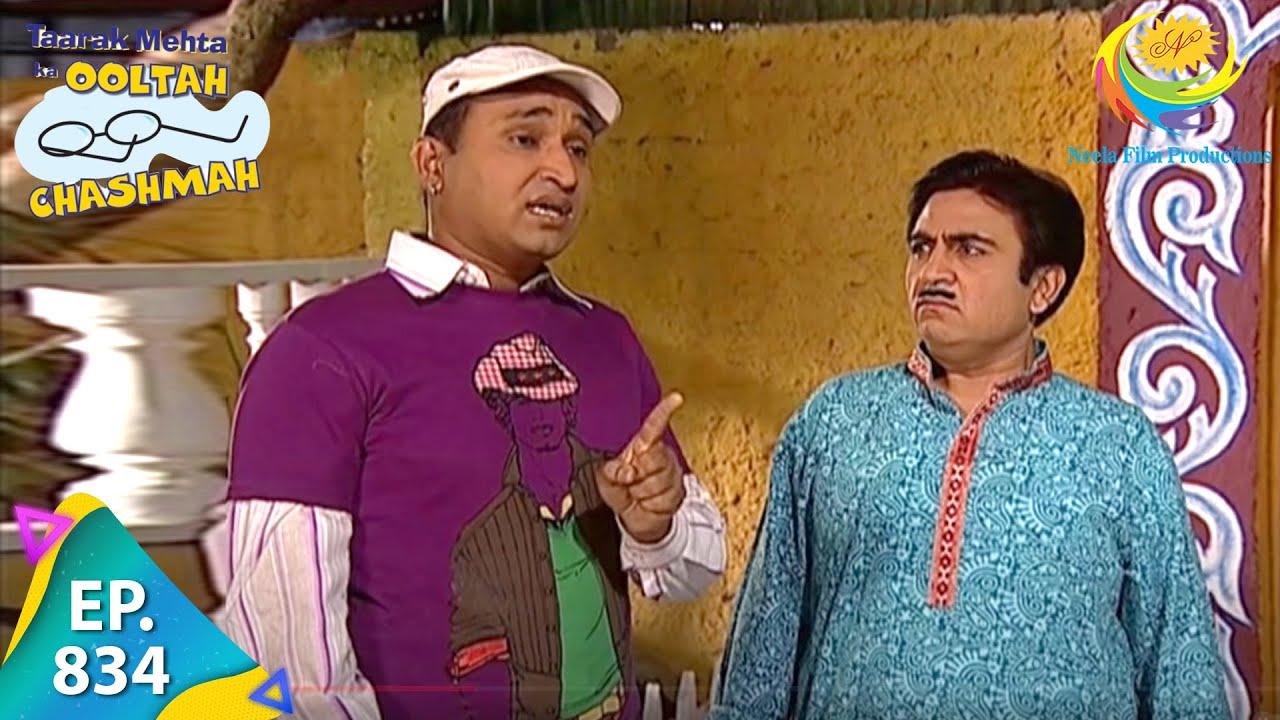 Download Taarak Mehta Ka Ooltah Chashmah - Episode 834 - Full Episode