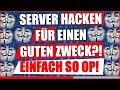 ICH HACKE MINECRAFT SERVER FÜR EINEN GUTEN ZWECK! | + 20€ Paysafecard Verlosung