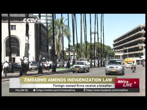Zimbabwe amends indigenization law