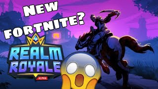 1ST GAME OF REALM ROYAL- COULD THIS TAKE OVER FORTNITE