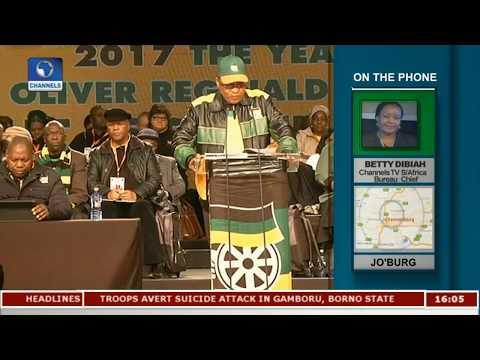 Channelstv S.Africa Bureau Chief Updates Zuma's Corruption Commission |Network Africa|