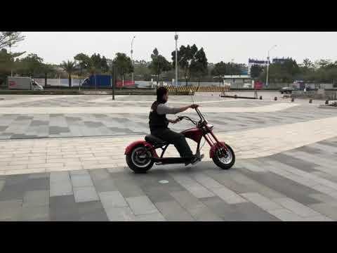 Электроскутер Citycoco Harley Chopper - обзор