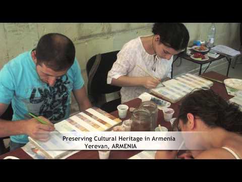 Preserving Cultural Heritage in Armenia, Yerevan, ARMENIA