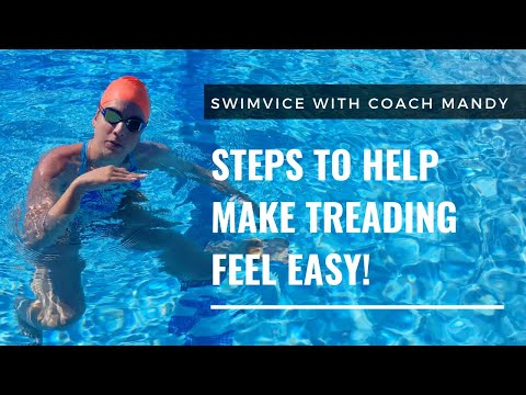 Steps to Make Treading Water Feel Easy!