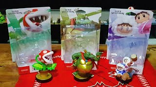 Unboxing: Piranah Plant, King K. Rool and Ice Climbers Super Smash Bros Amiibo