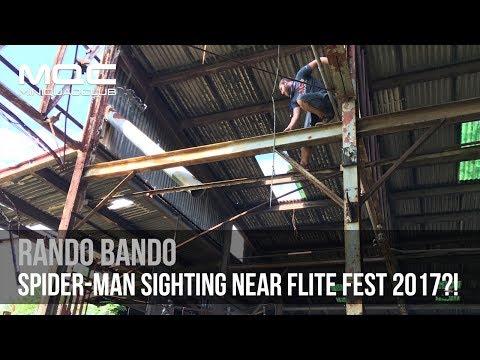 Spider-Man Sighting Near Flite Fest 2017???