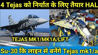 4 Tejas For Export|Tejas mk1/Mk1a/LiFT In Nashik Assembly line|Tejas Mk1a For Export|Tejas Latest Up