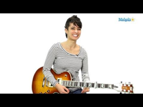 How to Play a D Minor Major Seven (DmMaj7) Chord on Guitar
