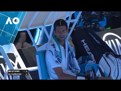 Djokovic & Istomin discuss skipping to the end | Australian Open 2017