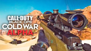 BLACK OPS COLD WAR ALPHA- FULL GAME MULTIPLAYER GAMEPLAY LIVE!!! (Call of Duty BOCW)