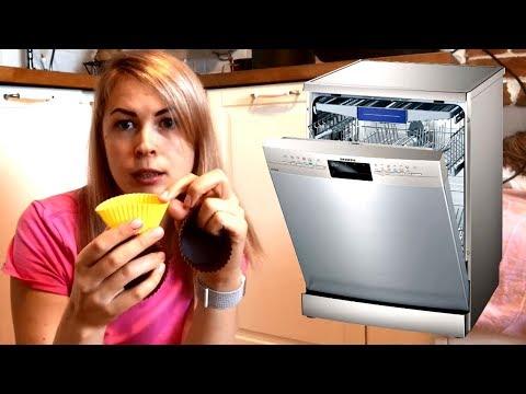 Как мыть силиконовые формы в посудомоечной машине