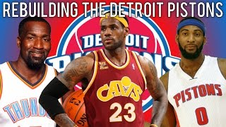 NBA 2K15 MyLEAGUE: Rebuilding the Detroit Pistons!
