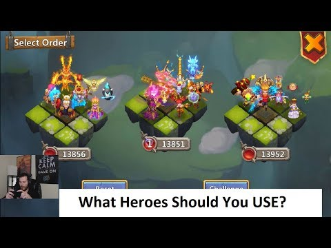JT's Main Explaining How To Set Up Lost Battlefield Teams Castle Clash