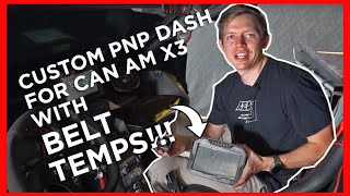 homepage tile video photo for CUSTOM CAN-AM X3 Dash WITH BELT TEMP!