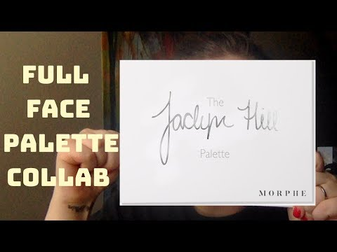 FULL FACE USING JACLYN HILL X MORPHE PALETTE COLLAB W/LITTLE MISS LIPSTICK thumbnail