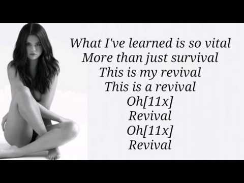 Selena Gomez - Revival (Lyrics) HD