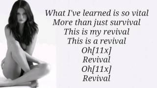 Selena Gomez - Revival (Lyrics) HD