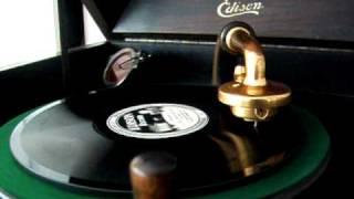 Original Memphis Five - The Great White Way Blues - 1923 Edison Disc Record 51204