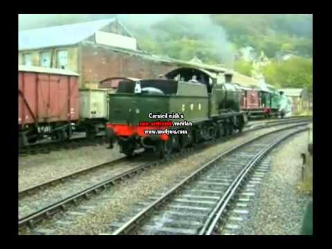 Steam locomotive GWR 2800 Class 2807.mp4
