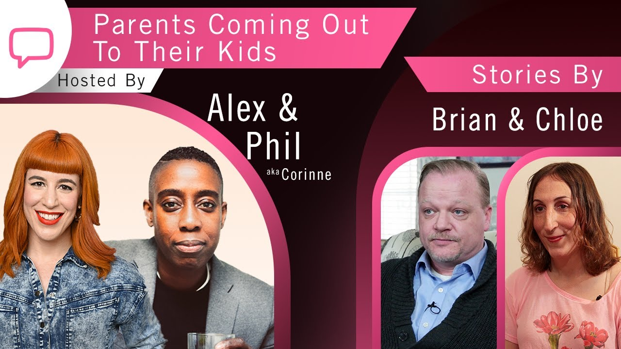 Download Podcast   Season 3, Episode 1   Parents Coming Out to Their Kids