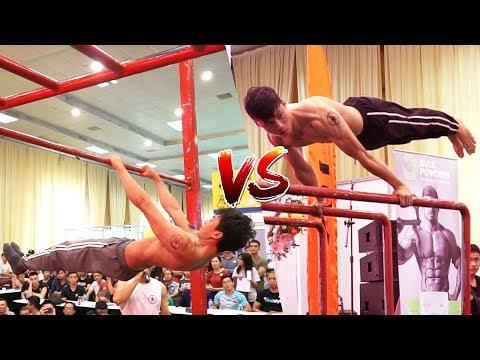 Thái Sơn vs Đăng Khoa - Ha Noi Street Workout Open Cup 2018 BATTLE
