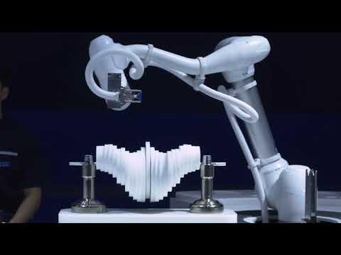 DOOSAN ROBOTICS / Main 시연 (Kinetic Wave Generator 조립