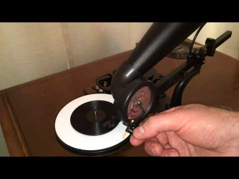 How to make a recording with your Gakken premium gramophone kit