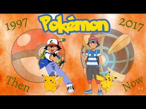 Pokémon Artwork Then & Now 1997-2017