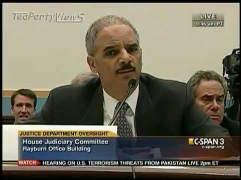 Jason Chaffetz Questions Eric Holder About Fast and Furious