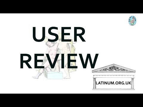 A User's  Review of the  latinum.org.uk Latin Audio Course