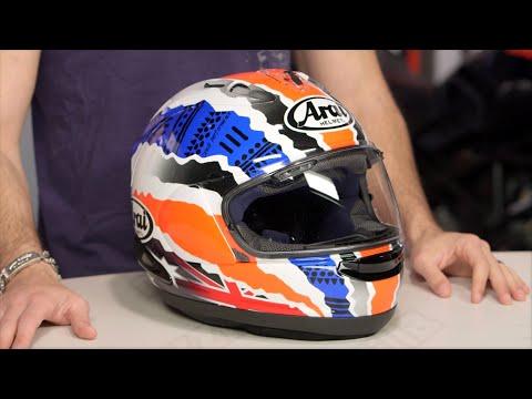Arai Corsair X Doohan Star 2 Helmet Review at RevZilla.com