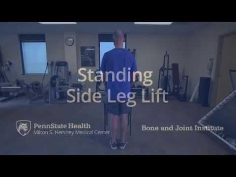 Hip Strengthening Exercise: Standing Side Leg Lift