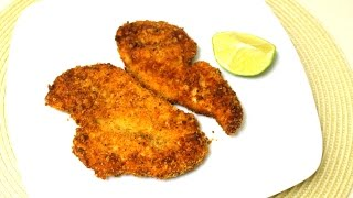 Parmesan Chicken Cutlets Recipe - In The Kitchen With Jonny Episode 104