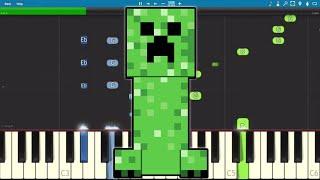 Creeper? Aw Man - Piano Tutorial - Revenge CaptainSparklez - Minecraft Parody