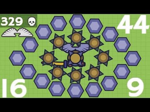 Moomoo.io  The Legend of the Spike: Full Spike Mode 329 Kills, 163K Score
