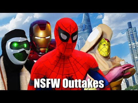 SPIDER-MAN: HOMECOMING PARODY NSFW OUTTAKES! Marvel Spoof
