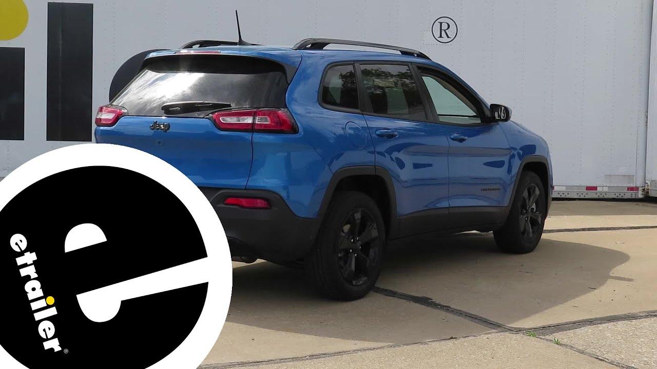 trailer wiring harness installation - 2018 jeep cherokee - etrailer com