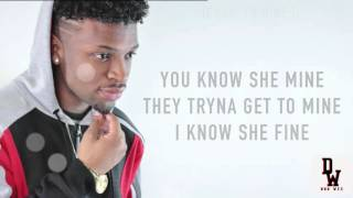 Dru Wes - That Girl Is Mine (Lyric Video)(Made By Dexta Dave)