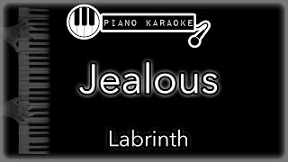 Jealous - Labrinth - Piano Karaoke Instrumental