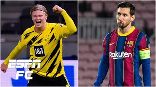 Would Erling Haaland be a better signing than Lionel Messi for Manchester City? | ESPN FC