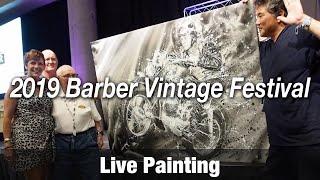 Motorcycle Art Part 89 / 2019 Barber Vintage Festival