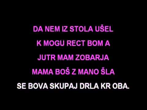 Karaoke - Čuki - Zobar