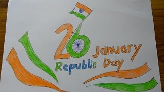 Happy Republic Day, 26th January poster