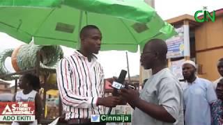 The Street Assembly (TSA) in Ado-Ekiti. Reaction to June 12 Public Holiday