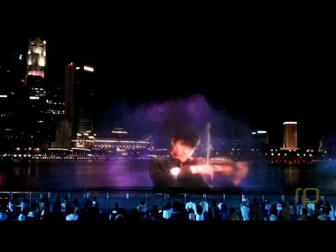 [HD] WONDER FULL - Spectacular Water & Light Multimedia Show @ Marina Bay Sands Singapore